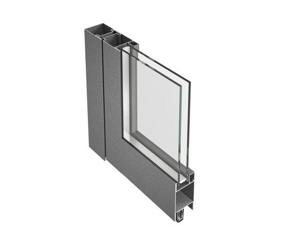Jansen-Economy 50/60 Porte, acier et acier inox de Jansen | Portes intérieures