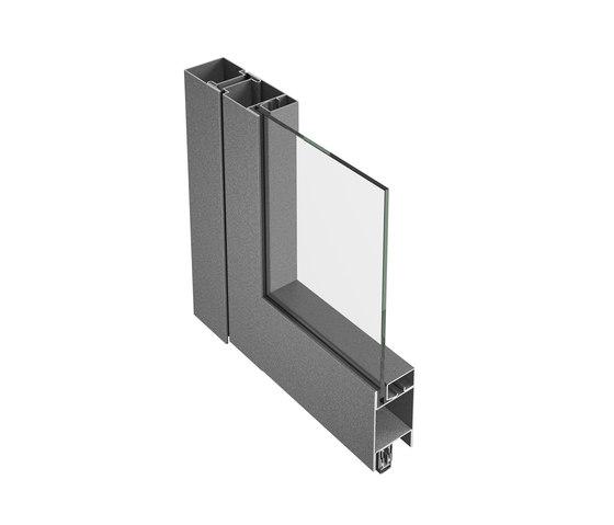 Jansen-Economy 50/60 fire protection door, steel and stainless steel by Jansen | Internal doors