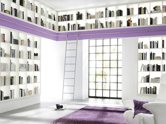 Klassik Ladder System/ Vario Ladder by MWE Edelstahlmanufaktur | Library ladders