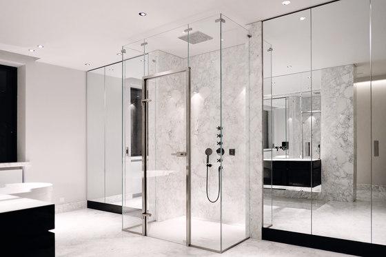 Edelstahlzarge Shower System by MWE Edelstahlmanufaktur   Shower door fittings