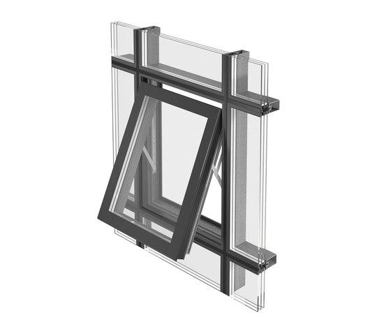 Projected top-hung window de Jansen | Sistemas de ventanas