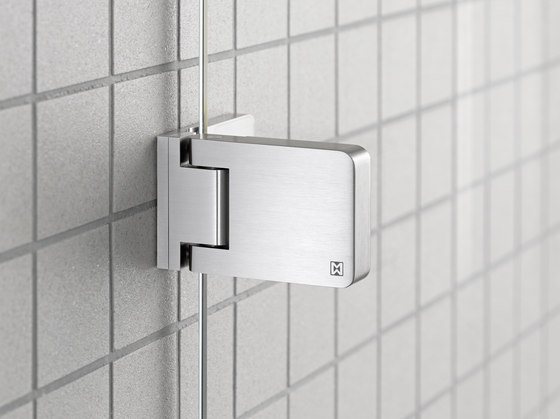 DU.338x Shower System by MWE Edelstahlmanufaktur   Shower door fittings