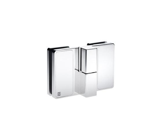 Spirit Akzent Shower System by MWE Edelstahlmanufaktur | Shower door fittings
