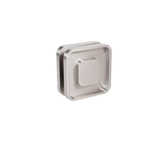 Flush Pull by MWE Edelstahlmanufaktur | Pull handles for glass doors