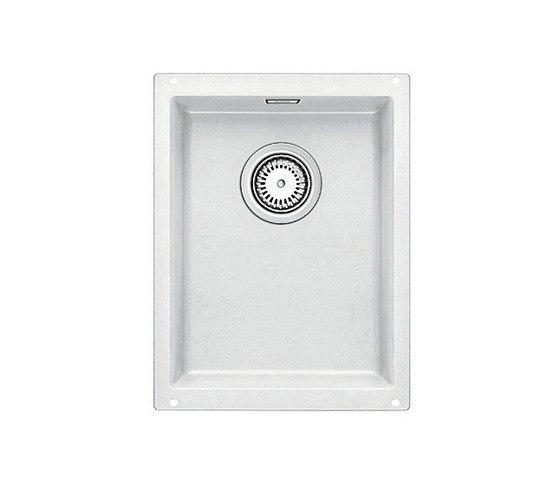 BLANCO SUBLINE 320-U   SILGRANIT White by Blanco   Kitchen sinks