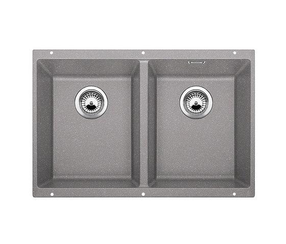 BLANCO SUBLINE 350/350-U | SILGRANIT Alu Metallic by Blanco | Kitchen sinks