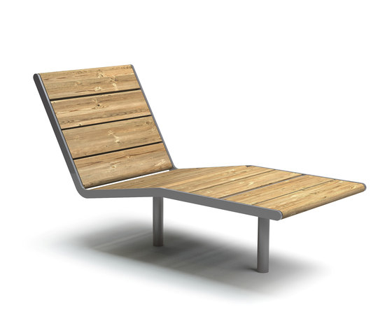 April sunbench by Vestre | Exterior chairs