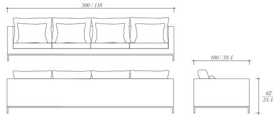 3x1 sofa by BALTUS | Sofas