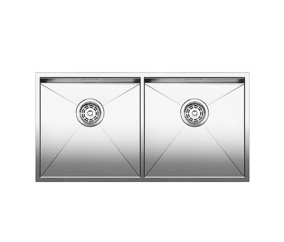 BLANCO ZEROX 400/400-IF by Blanco | Kitchen sinks