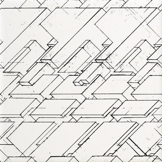 Boris Tellegen X-O Pattern B di ASCOT CERAMICHE | Piastrelle ceramica
