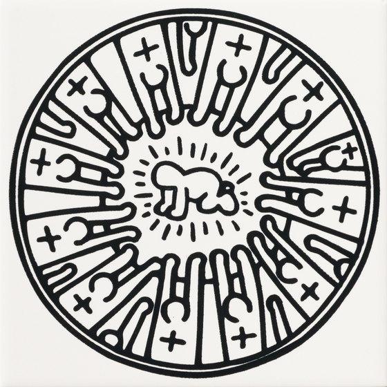 Keith Haring di ASCOT CERAMICHE | Piastrelle ceramica