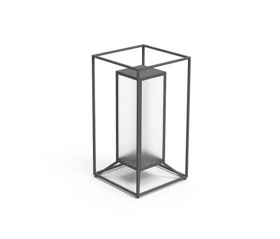 Cleo Teak Lantern by Talenti   Lanterns