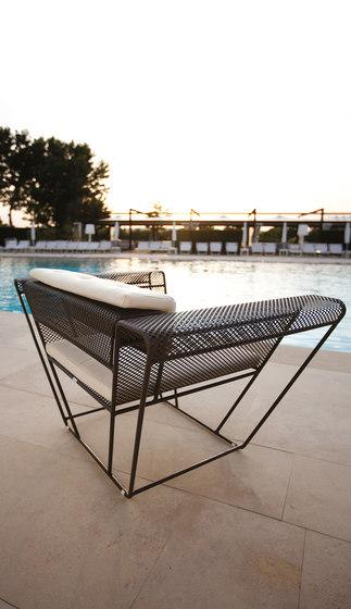 Float | Living Armchair by Talenti | Garden armchairs