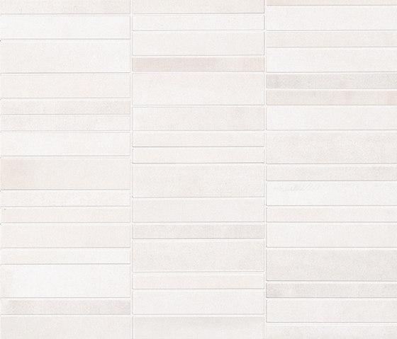 Frame Tratto White Mosaico di Fap Ceramiche | Mosaici ceramica