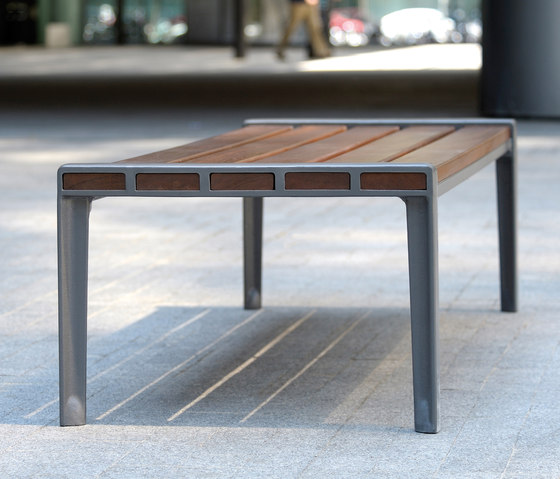 Athenes backless bench by AREA | Benches