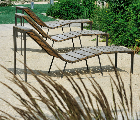 Atlantique chaise longue by AREA | Chairs