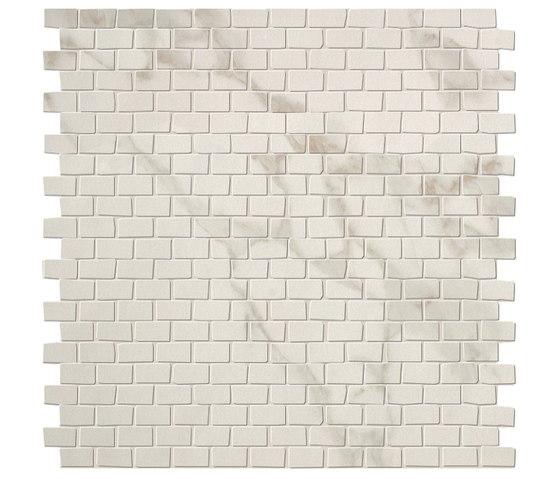 Roma Brick Calacatta Mosaico di Fap Ceramiche | Mosaici ceramica