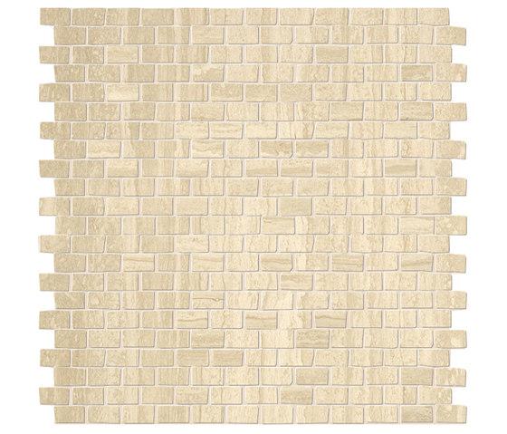 Roma Brick Travertino Mosaico by Fap Ceramiche | Ceramic mosaics