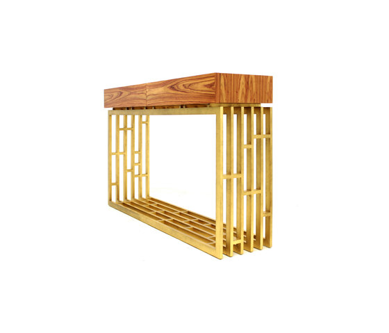 Oriental console rosewood de PAULO ANTUNES   Mesas consola