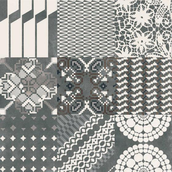 Azulej combination nero di Ceramiche Mutina | Piastrelle ceramica