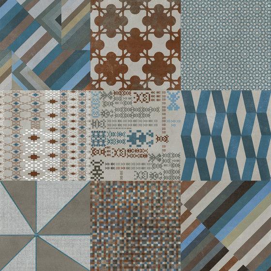 Azulej combination grigio von Ceramiche Mutina | Keramik Fliesen