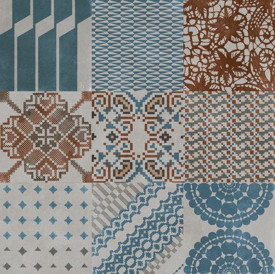 Azulej combination grigio di Ceramiche Mutina | Piastrelle ceramica