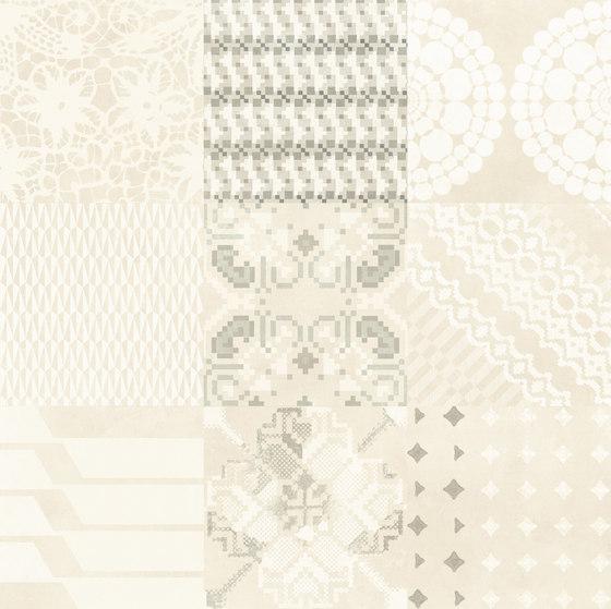 Azulej combination bianco von Ceramiche Mutina | Keramik Fliesen