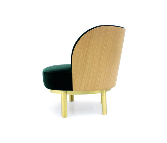 Serene armchair by PAULO ANTUNES | Lounge chairs