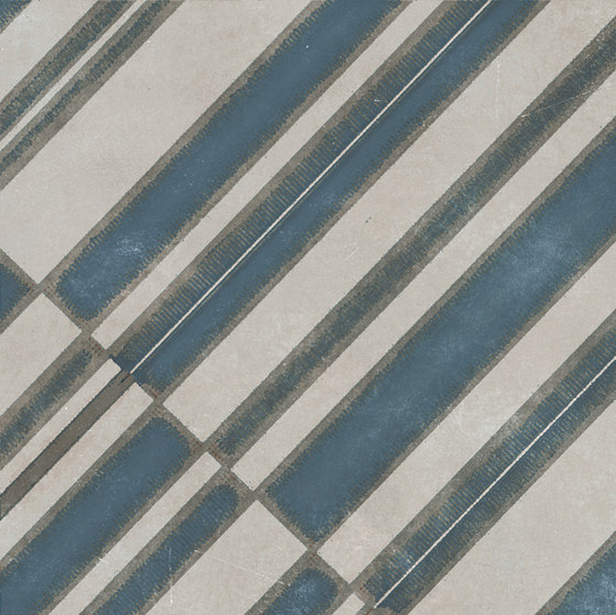 Azulej diagonal grigio von Ceramiche Mutina   Keramik Fliesen