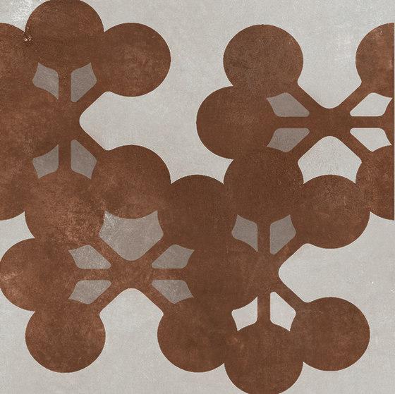 Azulej flores grigio di Ceramiche Mutina | Piastrelle ceramica