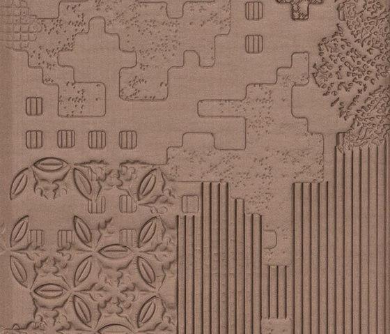 Bas-Relief patchwork cipria von Ceramiche Mutina   Keramik Fliesen