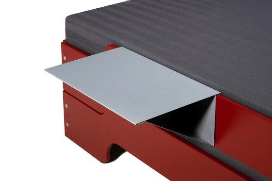 Shelf for Stacking bed de Müller Möbelwerkstätten | Lits