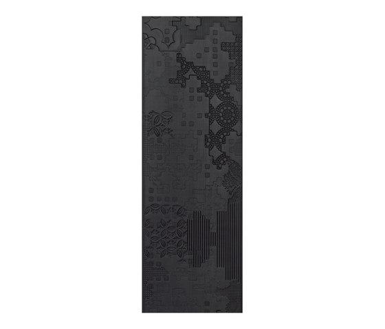 Bas-Relief patchwork nero von Ceramiche Mutina   Keramik Fliesen