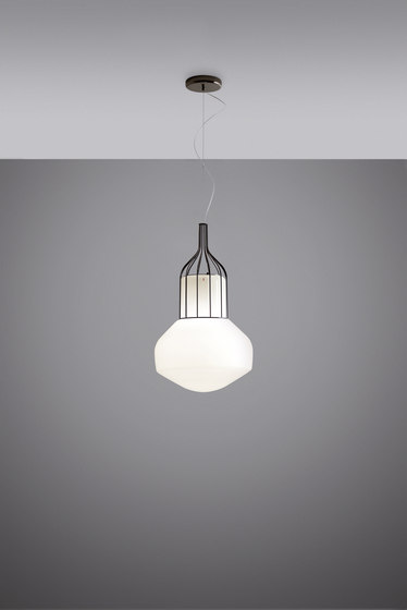 Aérostat F27 A11 24 by Fabbian | Suspended lights