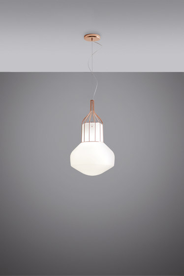 Aérostat F27 A11 41 by Fabbian   Suspended lights