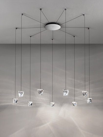 Tripla F41 G05 11 by Fabbian | Suspended lights