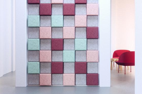 BAUX Acoustic 3D Pixel - Meeting informal di BAUX   Pannelli legno