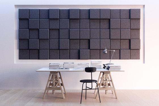 BAUX Acoustic 3D Pixel - Workingspace by BAUX | Wood panels