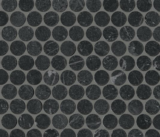 Roma Round Grafite Mosaico de Fap Ceramiche | Mosaicos de cerámica
