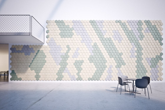 BAUX Acoustic Tiles - Campus Cofferoom by BAUX | Wood panels