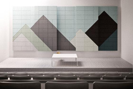 BAUX Acoustic Tiles - Campus Event-Hall by BAUX | Wood panels
