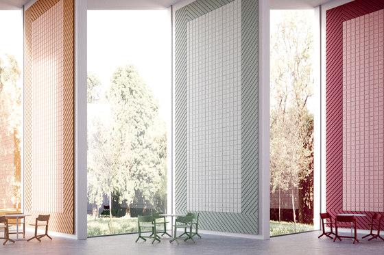 BAUX Acoustic Tiles - Campus Meeting Space by BAUX | Wood panels