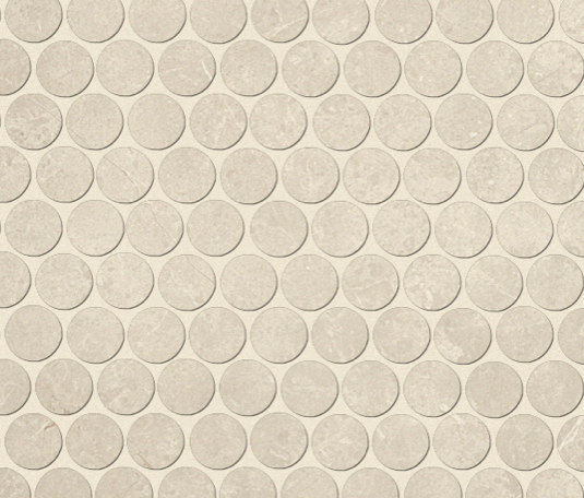 Roma Round Pietra Mosaico de Fap Ceramiche | Mosaïques céramique