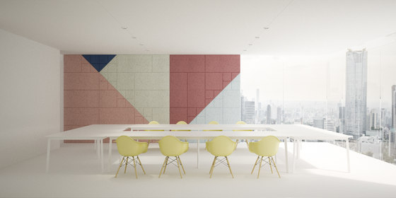 BAUX Acoustic Tiles - Meeting Room by BAUX | Wood panels
