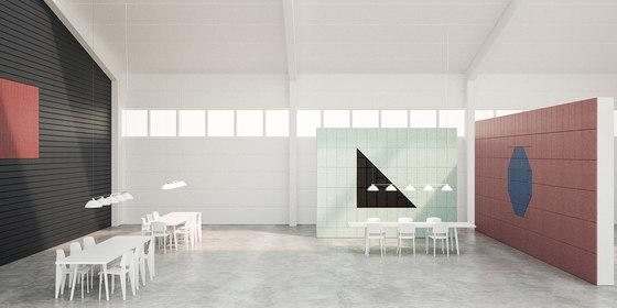 BAUX Acoustic Tiles/Panels - Meeting Room by BAUX   Wood panels