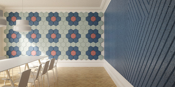 BAUX Acoustic Tiles/Panels - Meeting Room by BAUX | Wall panels