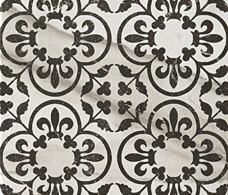Roma Decò 20 Statuario Grafite by Fap Ceramiche | Floor tiles