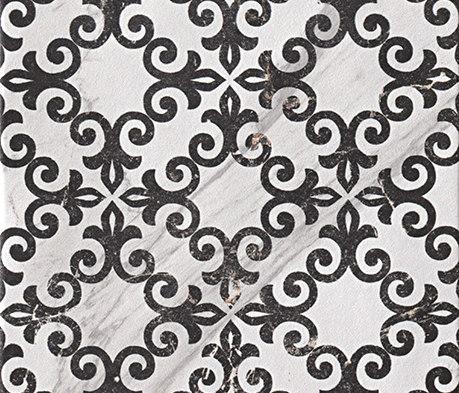 Roma Decò 20 Statuario Grafite de Fap Ceramiche | Baldosas de cerámica