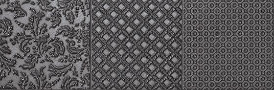 Roma Tracce Grafite Inserto Mix 3 by Fap Ceramiche | Ceramic tiles