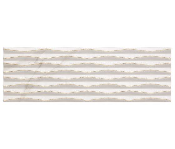 Roma Fold Glitter Calacatta Inserto by Fap Ceramiche | Ceramic tiles